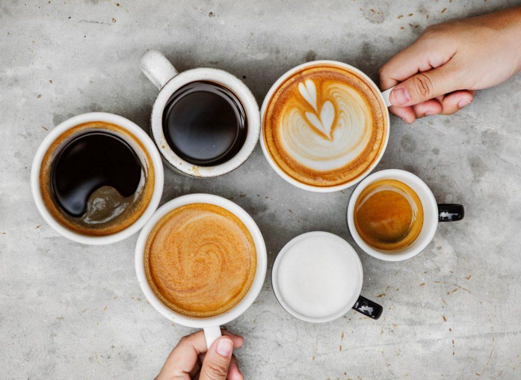 kaffe på jobbet